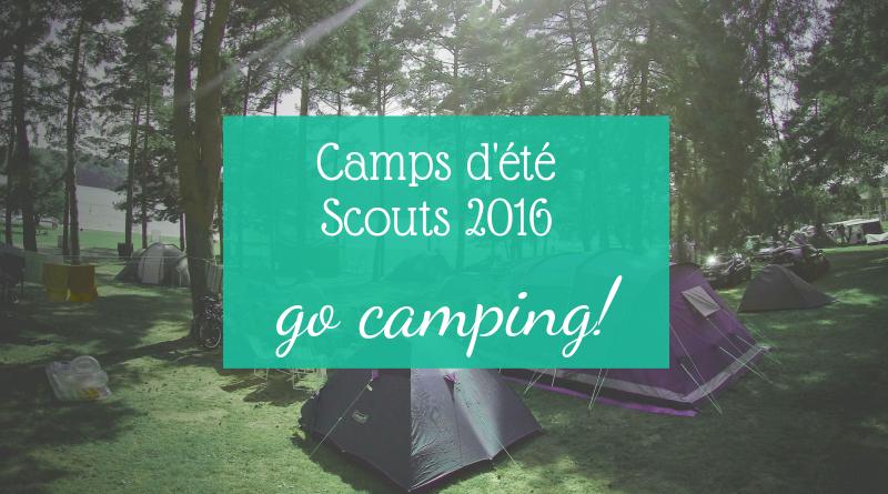 Inscriptions scouts ETE 2016