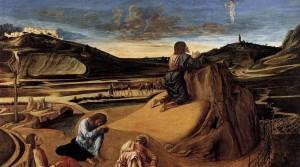 """Giovanni Bellini (circa 1430–1516). Orazione_nell'orto. [Public domain or Public domain], via Wikimedia Commons"""""""
