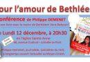 Conférence sur le livre de la maire de Bethléem, Vera Baboun