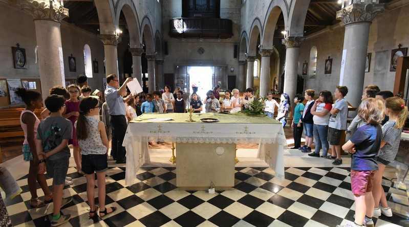 Juin 2017. Préparation de la 1ère communion à Saint-Charles