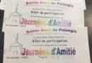 Enquête «Journées d'Amitié Ste Anne»