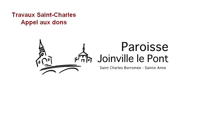 Travaux saint-Charles. Appel aux dons