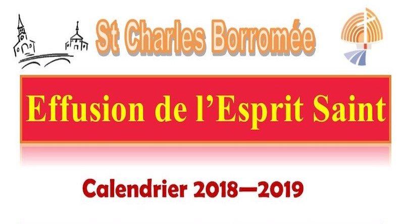 Parcours de l'effusion de l'Esprit Saint