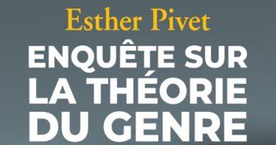Conférence sur la théorie du genre le 25 mars