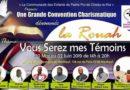 30 mai – 2 juin. Convention charismatique à Montreuil