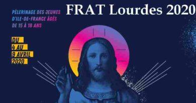 FRAT Lourdes 2020 pour les 15 – 18 ans
