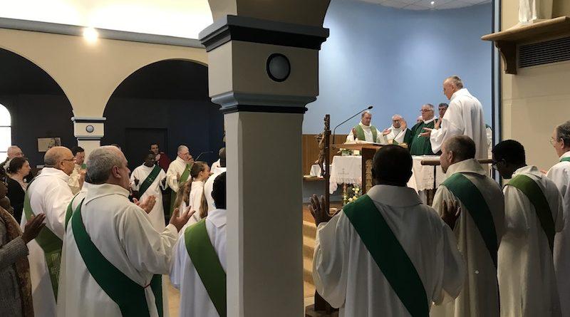 Institution diaconale de L. Cardinne (photos+homélie de Mgr Santier)