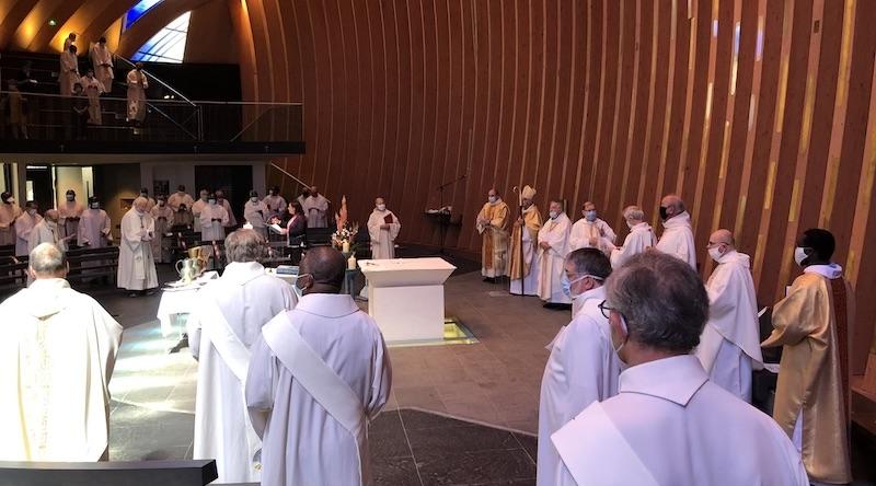 Messe chrismale à la cathédrale