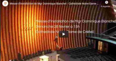 Messe d'installation de Mgr Blanchet. 28/02/2021 15h